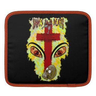 Eyes Like Blazing Fire - Revelation 1:14-18 iPad Sleeves