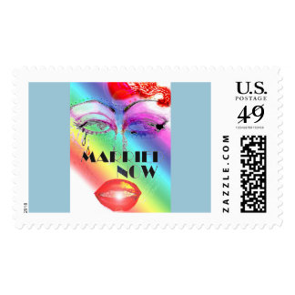 Eye's Married Now Drag Postage Stamp