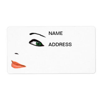 Eyes, Nose and Mouth Address Labels