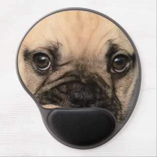 Eyes of a cute French Bulldog puppy Gel Mouse Pad