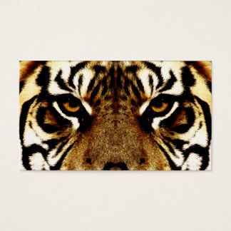 Eyes of a Tiger Business Card