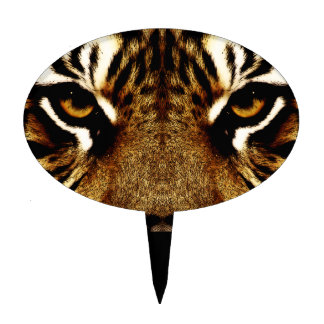 Eyes of a Tiger Cake Topper