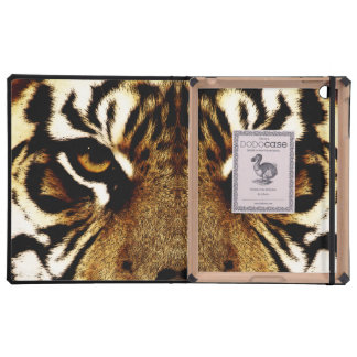 Eyes of a Tiger iPad Folio Cases