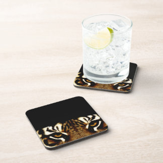 Eyes of a Tiger Drink Coasters