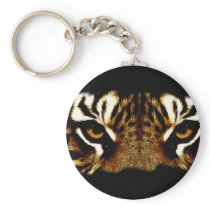 Eyes of a Tiger Keychain