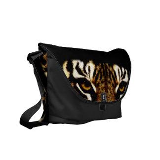 Eyes of a Tiger Messenger Bag