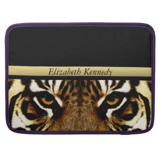 Eyes of a Tiger Personalized Sleeve For MacBook Pro