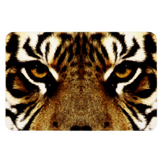 Eyes of a Tiger Rectangle Magnets