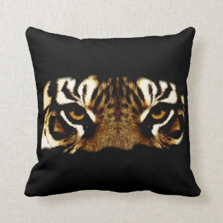 Eyes of a Tiger Throw Pillow