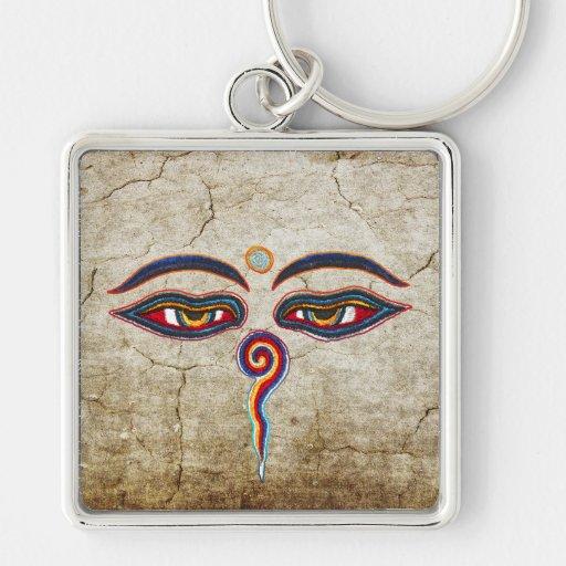 Eyes Of Buddha / Augen der Weisheit | antique Keychains