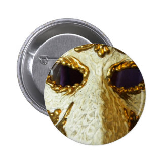 Eyes of Carnival Button