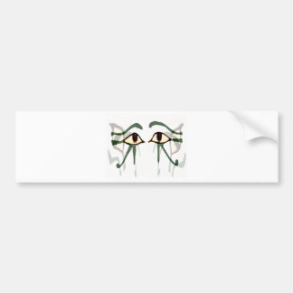 Eyes of Egypt gifts & greetings Car Bumper Sticker