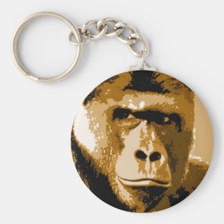 Eyes of Gorilla Keychain