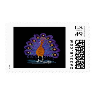 Eyes of India (inverted) Postage