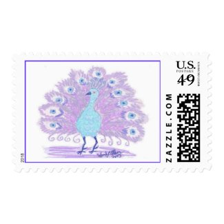Eyes of India (lilac) Postage