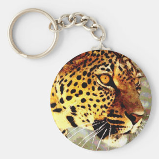 Eyes of Leopard Keychain
