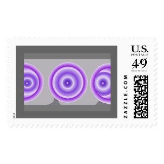 Eyes of Moon Postage Stamp