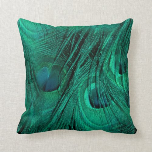 Eyes Of Nature Throw Pillow