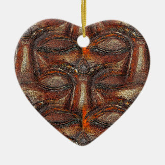 Eyes of the Buddha Ceramic Ornament