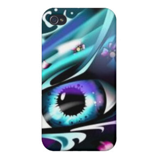 Eyes OF The Deep Blue Ocean Covers For iPhone 4