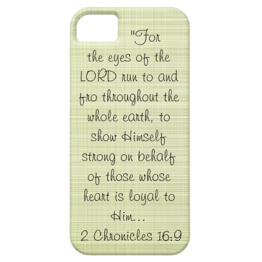 Eyes of the Lord iPhone SE/5/5s Case