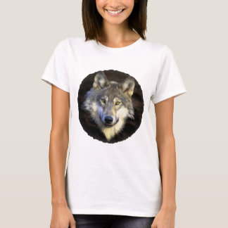 Eyes of the Mystic Gray Wolf T-Shirt