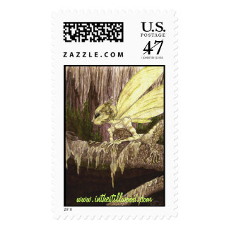 """Eyes of the Swamp"" real postage stamp!"