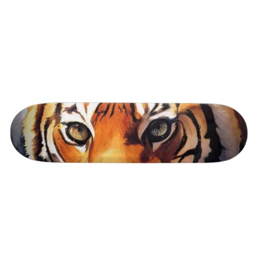 Eyes of the Tiger Paul Jackson Skateboard