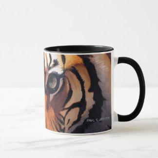 """""""Eyes of the Tiger"""" Paul Jackson Watercolor Mug"""