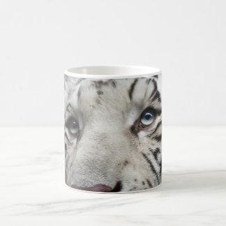 Eyes of the White Tiger Mugs