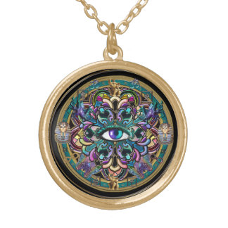 Eyes of the World Mandala Necklace