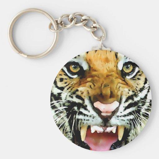 Eyes of Tiger Key Chain