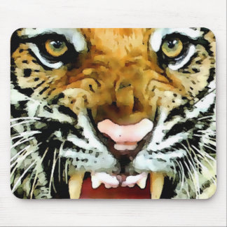 Eyes of Tiger Mouse Pad