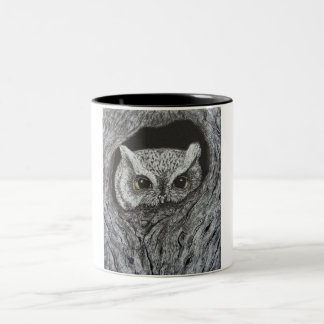 Eyes of Wisdon Two-Tone Coffee Mug
