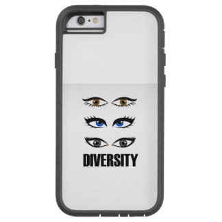 Eyes of women showing diversity tough xtreme iPhone 6 case
