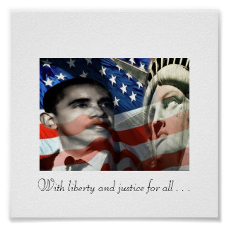 Eyes on liberty, With liberty and justice for a... Poster