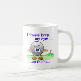 Eyes on the Ball Coffee Mug
