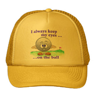 Eyes on the Ball Hat