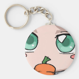 Eyes on the carrot! keychain