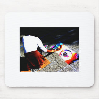 Eyes On The Ground Mouse Pad