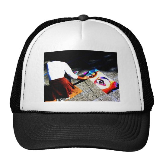Eyes On The Ground Trucker Hat