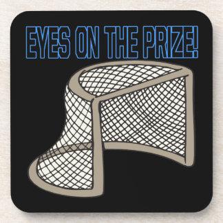 Eyes On The Prize Beverage Coaster