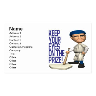 Eyes On The Prize Business Card