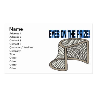 Eyes On The Prize Double-Sided Standard Business Cards (Pack Of 100)