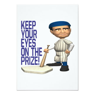 Eyes On The Prize Card