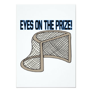 "Eyes On The Prize 5"" X 7"" Invitation Card"