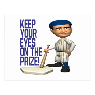 Eyes On The Prize Postcard