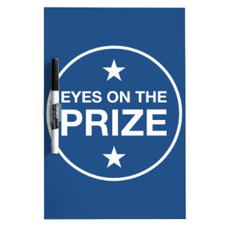 Eyes On The Prize Stars Circle (Choose Your Color) Dry-Erase Board