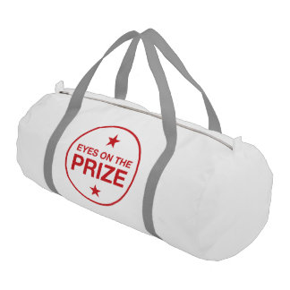Eyes On The Prize Stars Circle (Choose Your Color) Duffle Bag