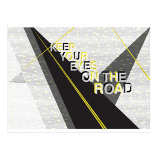 Eyes on the Road Postcard